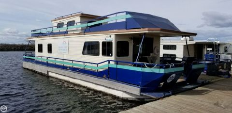 1997 Pacific Boats 15 x 56 1997 Pacific 56 Houseboat for sale in Stockton, CA