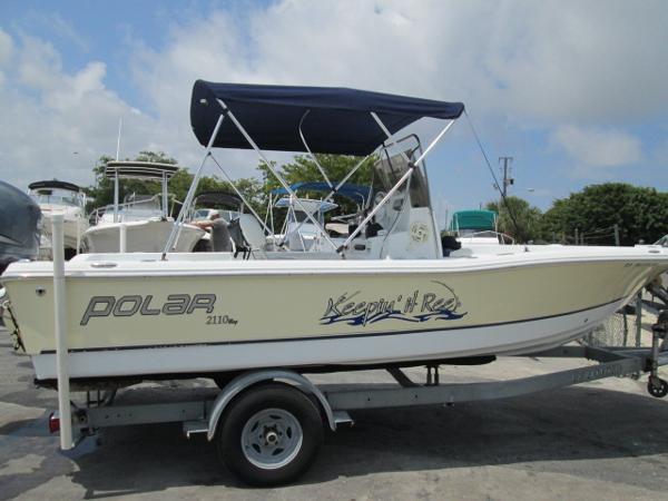 62454e4f0430 2007 Polar 2110 Bay. save boat
