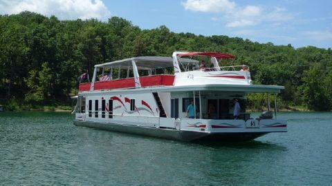 2007 Sharpe 18x85 Houseboat Custom