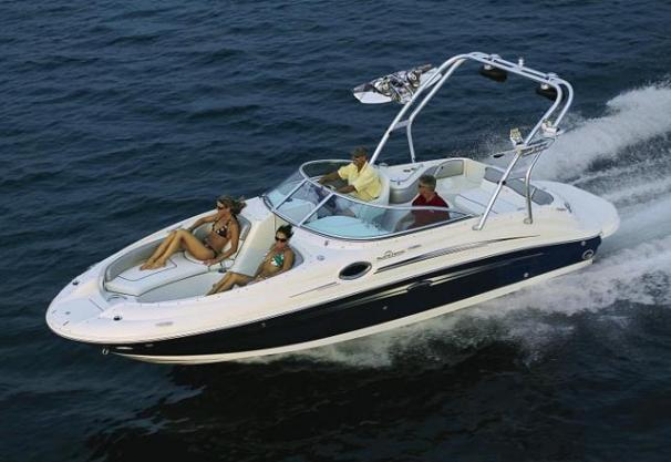 2008 Sea Ray 240 Sundeck Manufacturer Provided Image