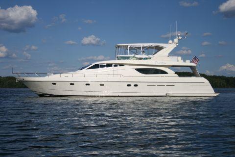 1998 Ferretti Yachts Flybridge