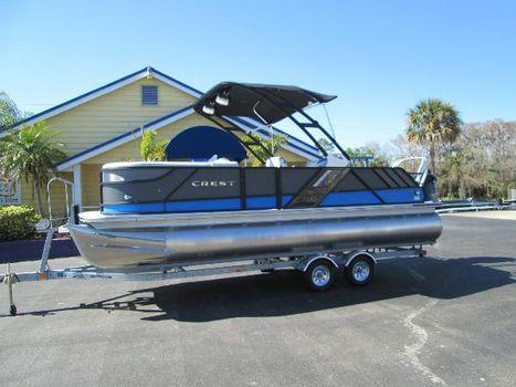 2016 Crest Pontoon Boats Caliber Tri-Toon