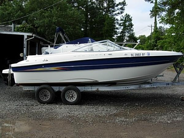 2005 bayliner 219 21 foot 2005 bayliner boat in for Used boat motors for sale in sc
