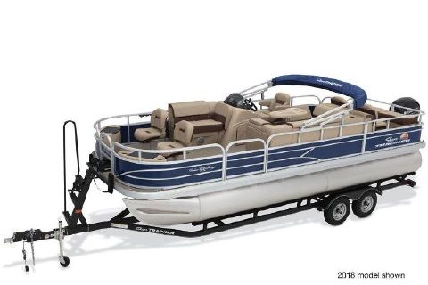 2019 Sun Tracker Fishin' Barge 22 DLX