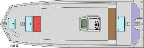 2016 SEAARK BOATS INC 2472FXCC -ELITE