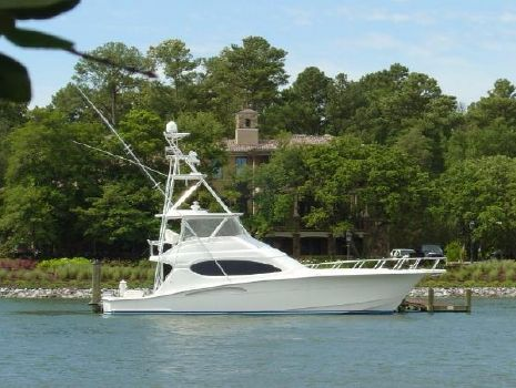 2005 Hatteras 54 Convertible w/CAT warranty