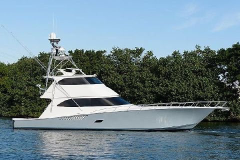 2014 Viking 76 Enclosed Bridge Gray Ghost