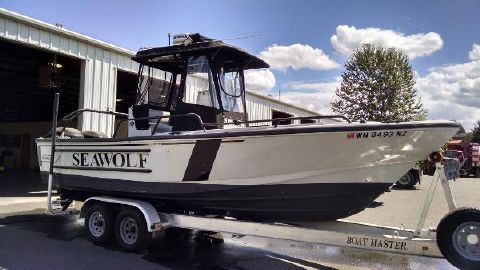 2001 Boston Whaler Justice 24