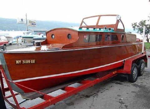 1929 Chris-Craft 22 Cadet Cabin Cruiser 22 Chris-Craft Cadet 1929