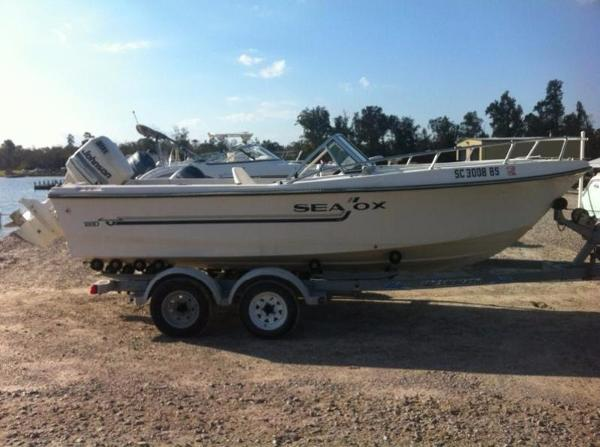 1989 sea ox 180d 18 foot 1989 motor boat in lake city sc for Used boat motors for sale in sc