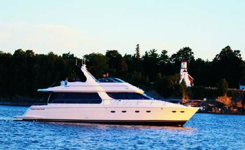 2001 Carver 570 Voyager Pilothouse Manufacturer Provided Image: 570 Voyager Pilothouse