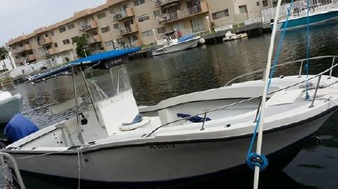 1989 Dusky 250 Open Fisherman