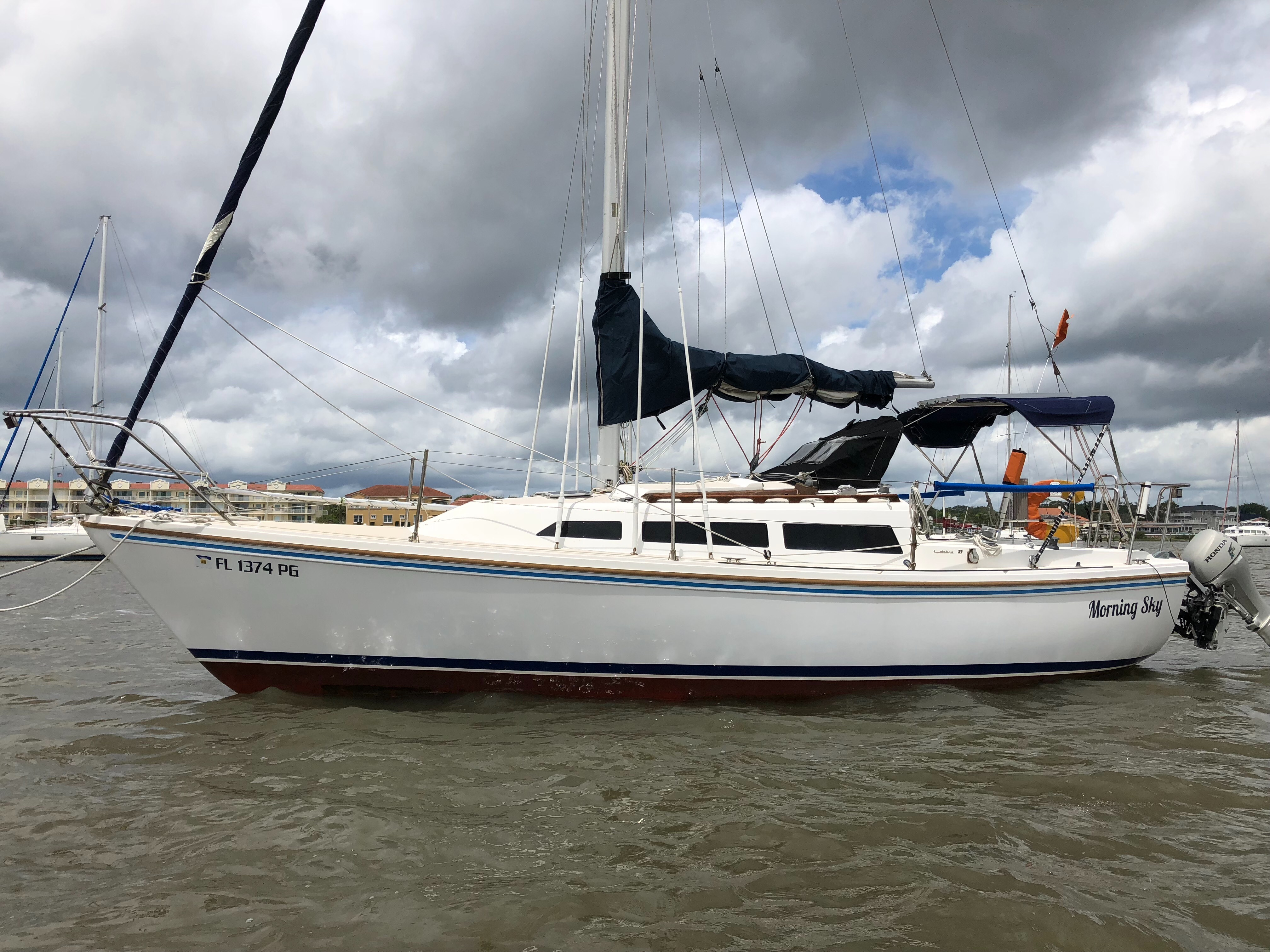 Used 1984 Catalina 27 St Augustine Fl BoatTrader
