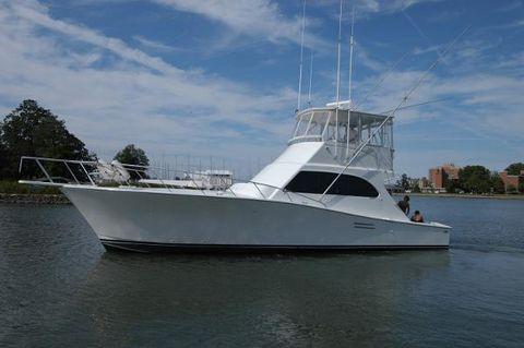 1997 Post Convertible Sportfish Post Marine 47 Convertible Profile