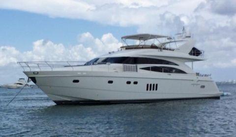2005 Princess-Viking Sport Cruiser 70 Motor Yacht Port Side