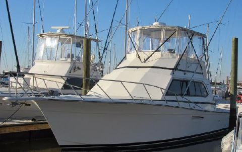 1989 Egg Harbor 43 Sport Fisherman