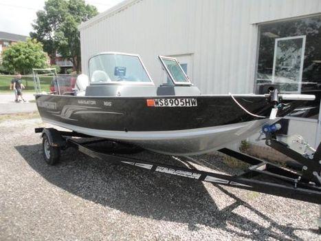 2012 Alumacraft Navigator 165 Sport