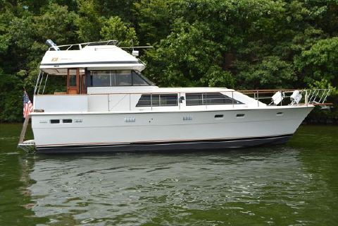 1979 Trojan 44 Motor Yacht Profile