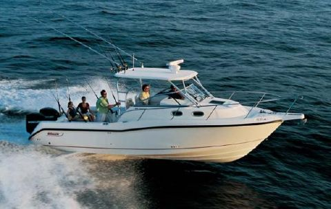 2008 Boston Whaler 305 Conquest Manufacturer Provided Image