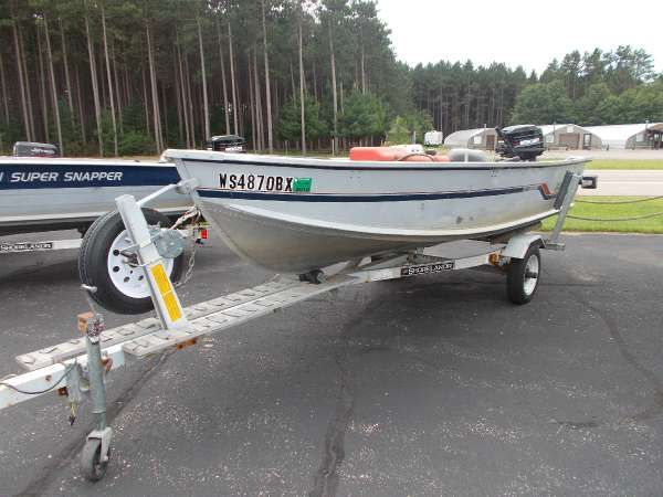 Alumacraft new and used boats for sale in wisconsin for Used fishing boats for sale in wisconsin