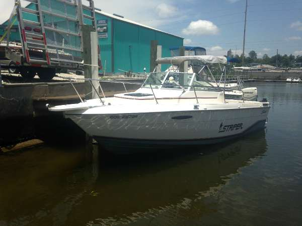 1996 Striper 21 Walkaround