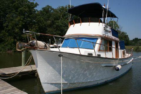 1986 Monk 36 Trawler