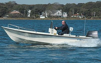 2015 May-craft 1700 Skiff Manufacturer Provided Image: 1700 Skiff
