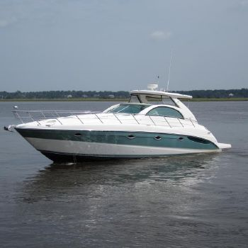 2002 Maxum 4200 SCR Port side profile