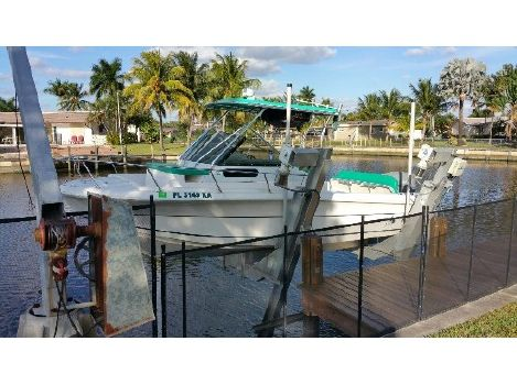 1997 Angler Boats 220