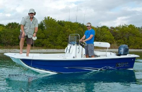2016 Carolina Skiff 1655 DLX Manufacturer Provided Image