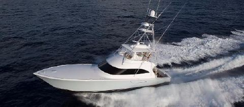 2018 Viking 62 Convertible Port Side