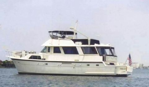 1981 Hatteras Cockpit Motor Yacht Photo 1