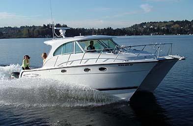 2004 Glacier Bay 3480 Ocean Runner 3480 Glacier Bay, Manufacturer Provided Image
