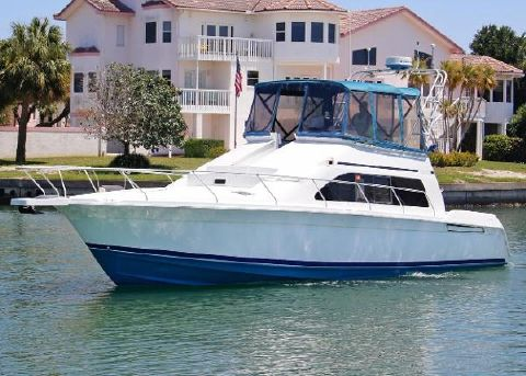 1997 MAINSHIP 40' SEDAN BRIDGE
