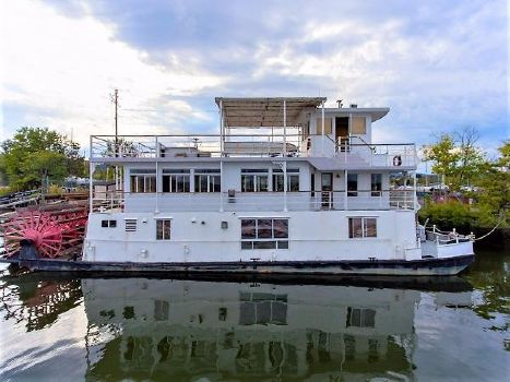 1982 AC Mcleod Custom Sternwheeler House Barge Profile