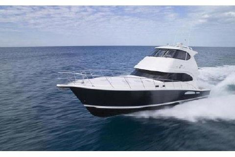 2017 Riviera 63 Enclosed Flybridge Manufacturer Provided Image