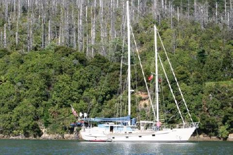 1988 John Walsh Custom Expedition Schooner Main Profile
