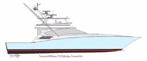 2018 Offshore 73 Convertible Profile