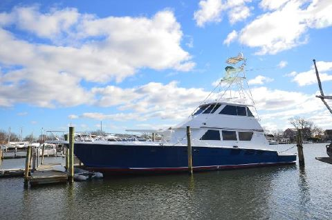 1987 Hatteras Flybridge Convertible