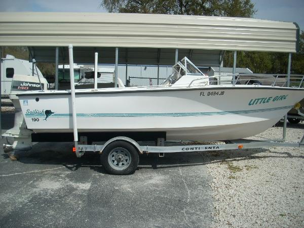 1994 Sailfish 190 19 Foot 1994 Sailfish Motor Boat In