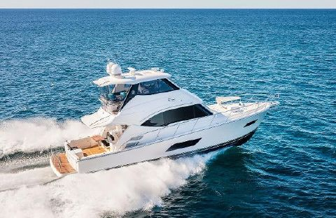 2017 Riviera 52 Enclosed Flybridge Manufacturer Provided Image