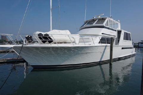 1997 Viking 60 Cockpit Sports Yacht Profile