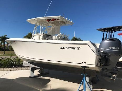 2016 SAILFISH 270CC
