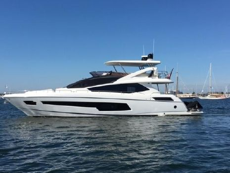 2015 SUNSEEKER 75 FLYBRIDGE YACHT