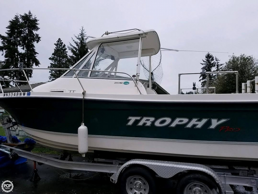 2007 Trophy Pro 2052 Wa 21 Foot 2007 Motor Boat In