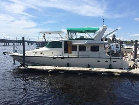 2000 Hampton Yachts 60 Richardson Profile