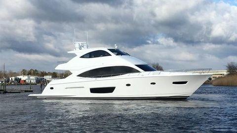 2018 Viking 75 Motor Yacht (VK75-507) 75 Viking Motoryacht Profile