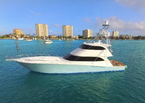 2013 Viking 82 Enclosed Bridge DOUBLE BARREL