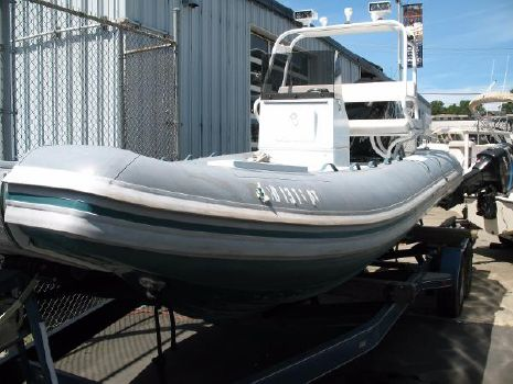 2012 Nautica International Rib 20 Cat