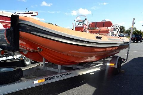 2011 Nautica International Rib 20' Rescue Boat